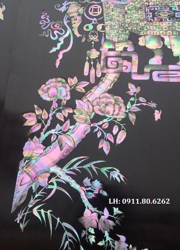 z926837052582 48cba2b8deb39417899faacb4a3dbe2a - Câu Đối Khảm ốc đỏ singapore MS: 01
