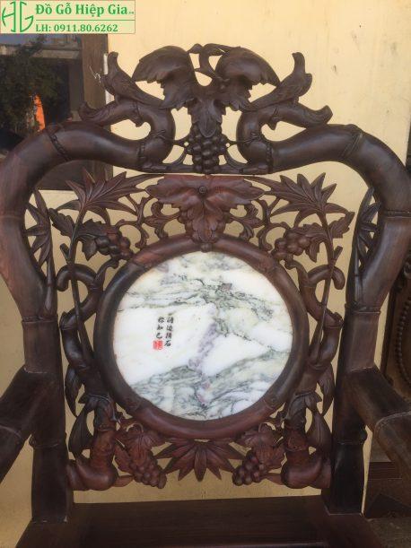 Bộ ghế trúc nho