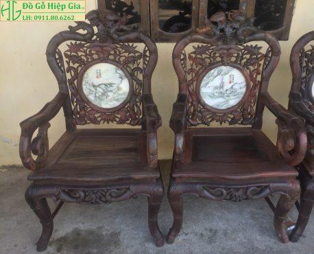 Bộ ghế trúc đan