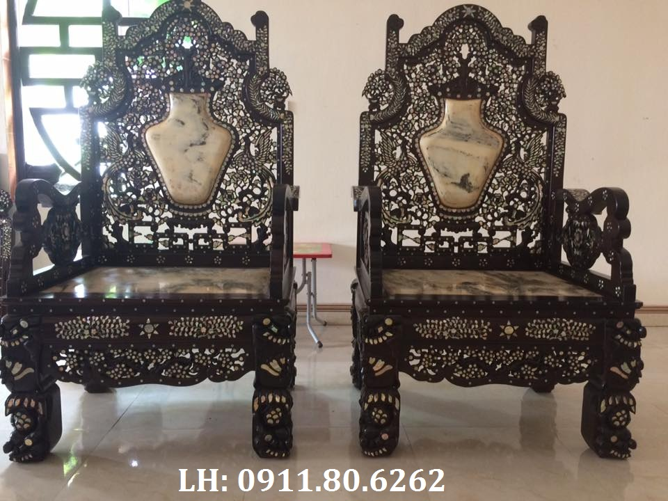 14937473 1681784072133665 2761772470875850489 n - Bộ Ghế Vách Thái Phượng Khảm ốc MS: 14
