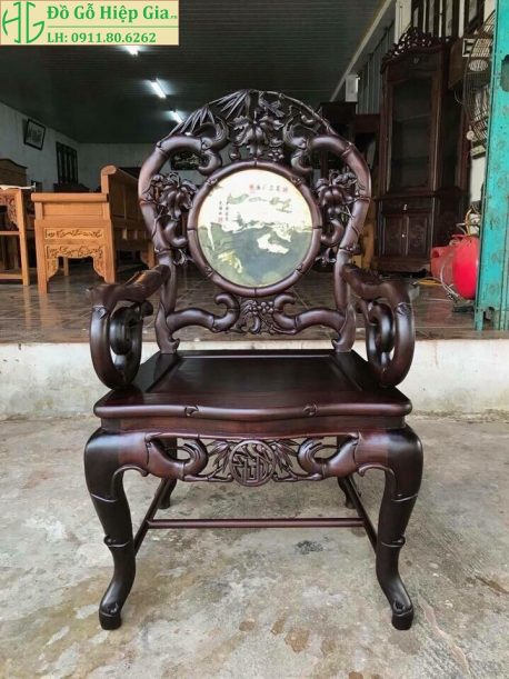 Bộ ghế trúc đơn