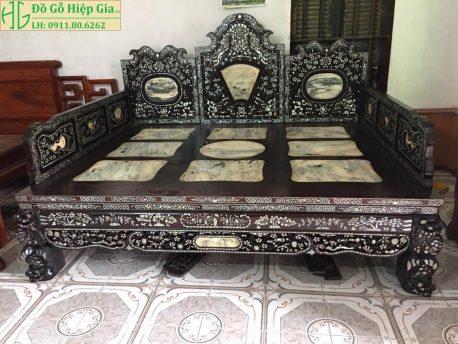 Giường Ba Thành Khảm ốc