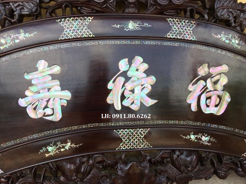 z1001535790426 a9869122bd4143713c21a995a265ed19 - Cuốn Thư Phúc Lộc Thọ MS: 03