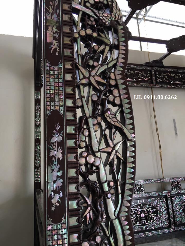 z981206129511 a531d0208e29faae26867d061d2bd5be - Giường Long Sàng Khảm ốc MS: 03