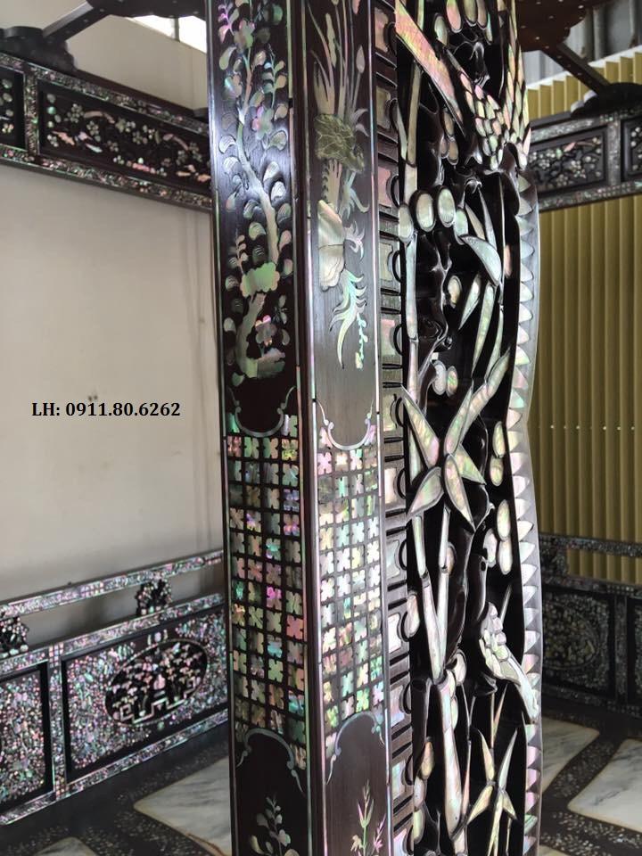 z981206185410 50e53949866dddc2d60aa4acef9f6312 - Giường Long Sàng Khảm ốc MS: 03