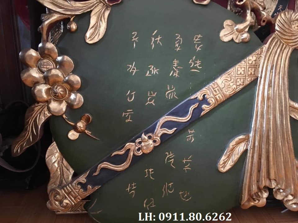 z989443805830 a2b9a37306452d9c72c10c1a3af4aee1 - Đại Tự Đào Kép Sơn Thiếp MS: 04
