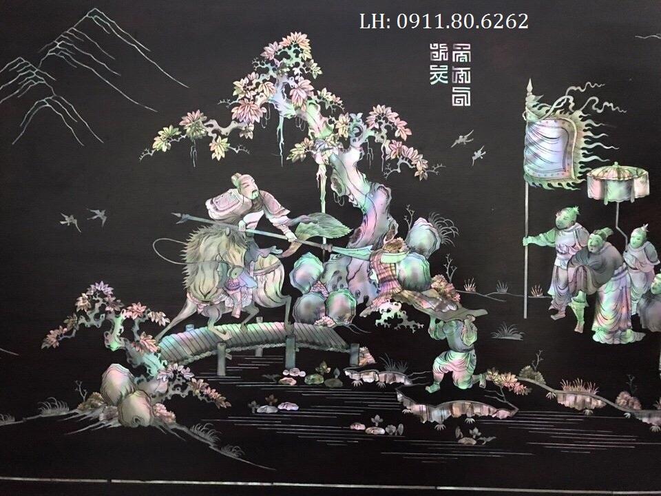 z996551481235 afe1dd9b96e3c94288528facd8529535 - Tranh Tào Tháo Hiến Áo Cẩm Bào MS: 05