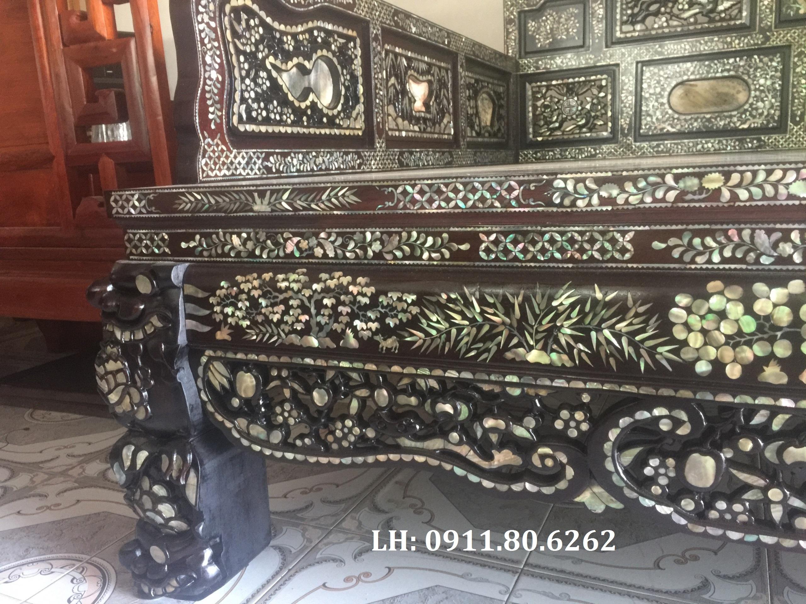 z1050229458137 3b86eba49949c120698ca830e3b6825e - Giường Ngũ Sơn Cẩn Ốc MS: 03