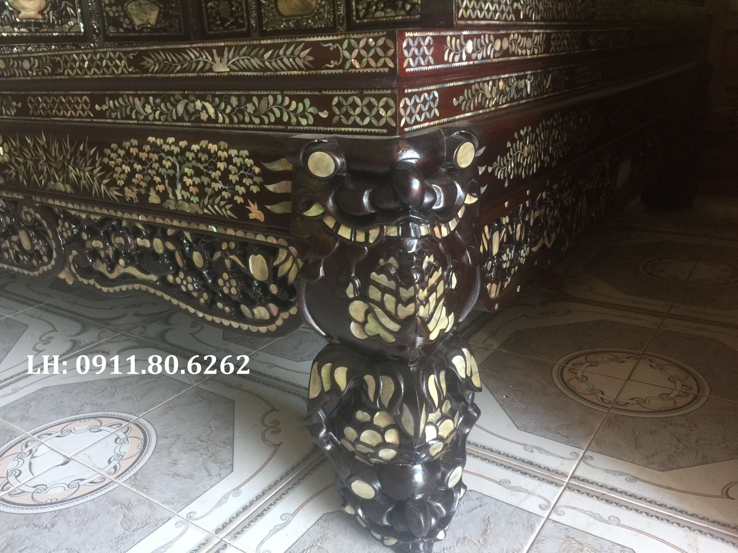 z1050229558748 0a17f8cd50083743eed47b17783effc8 - Giường Ngũ Sơn Cẩn Ốc MS: 03