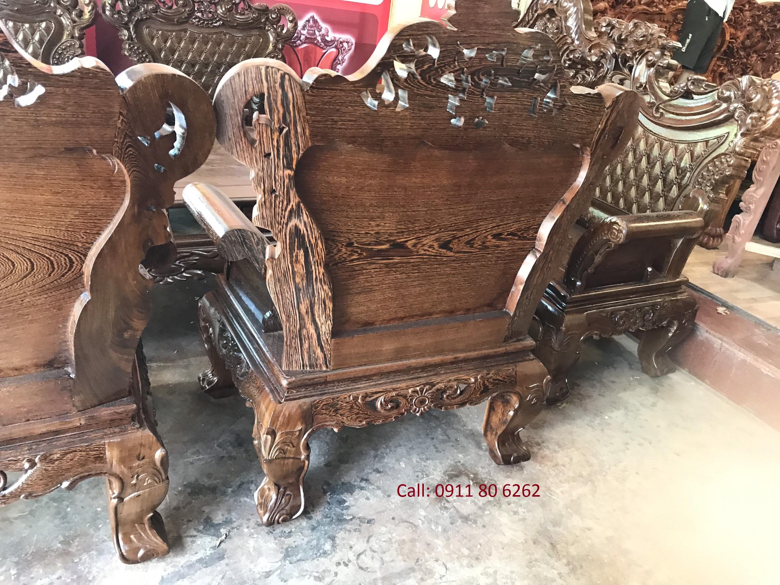 z1393376297162 363ef637ac946026237ce2c3133845a3 - Sofa Hoàng Gia Gỗ Mun MS: 48