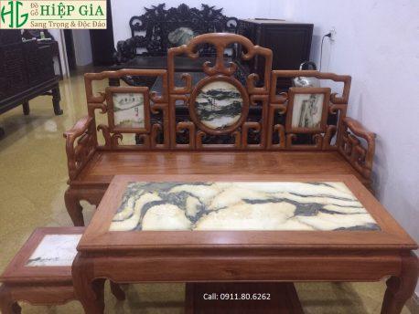 Ghế Móc Gỗ Hương Đá