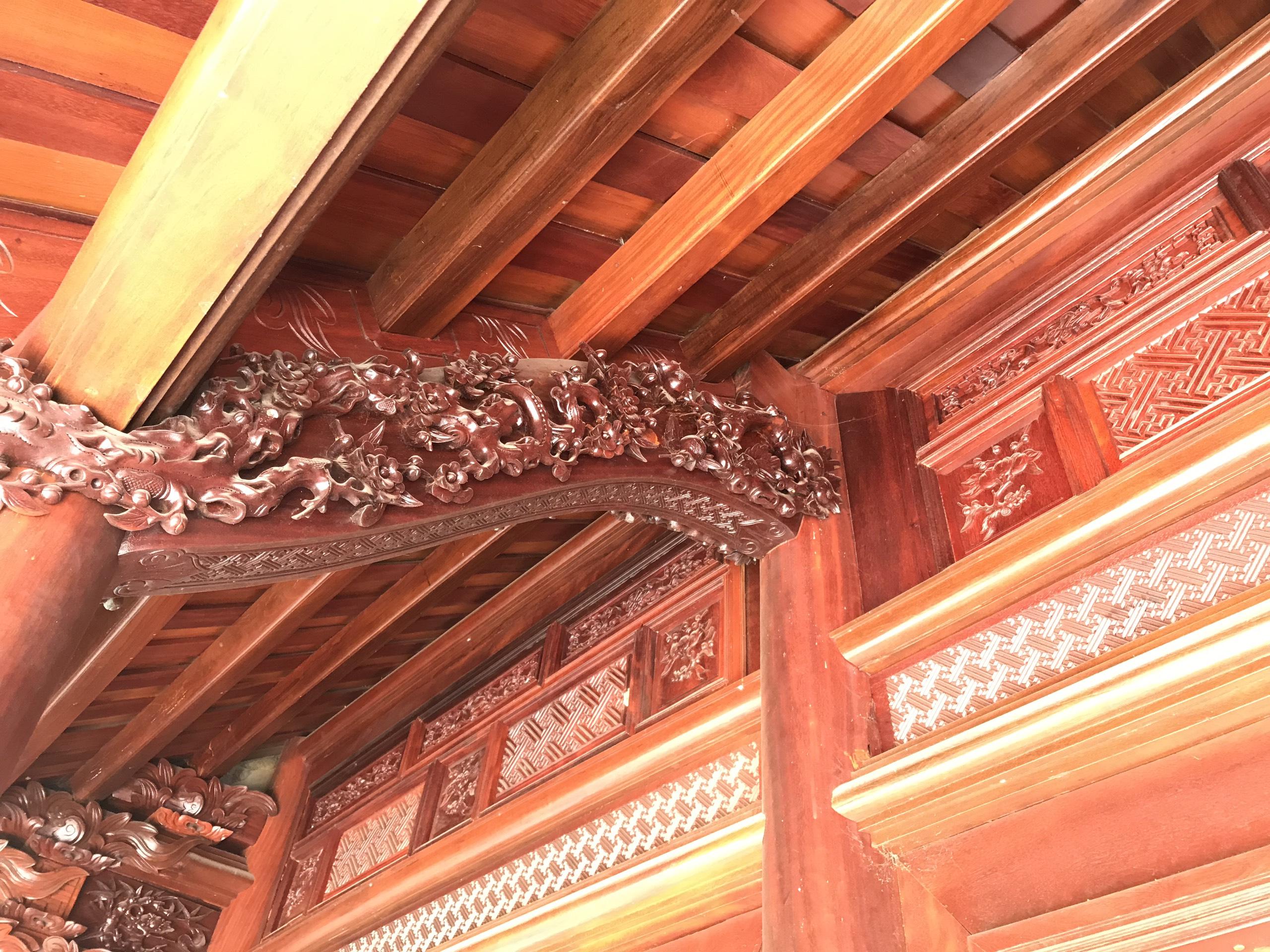 nha cot - Nhà Gỗ Lim - Nhận Thiết Kế & Thi Công