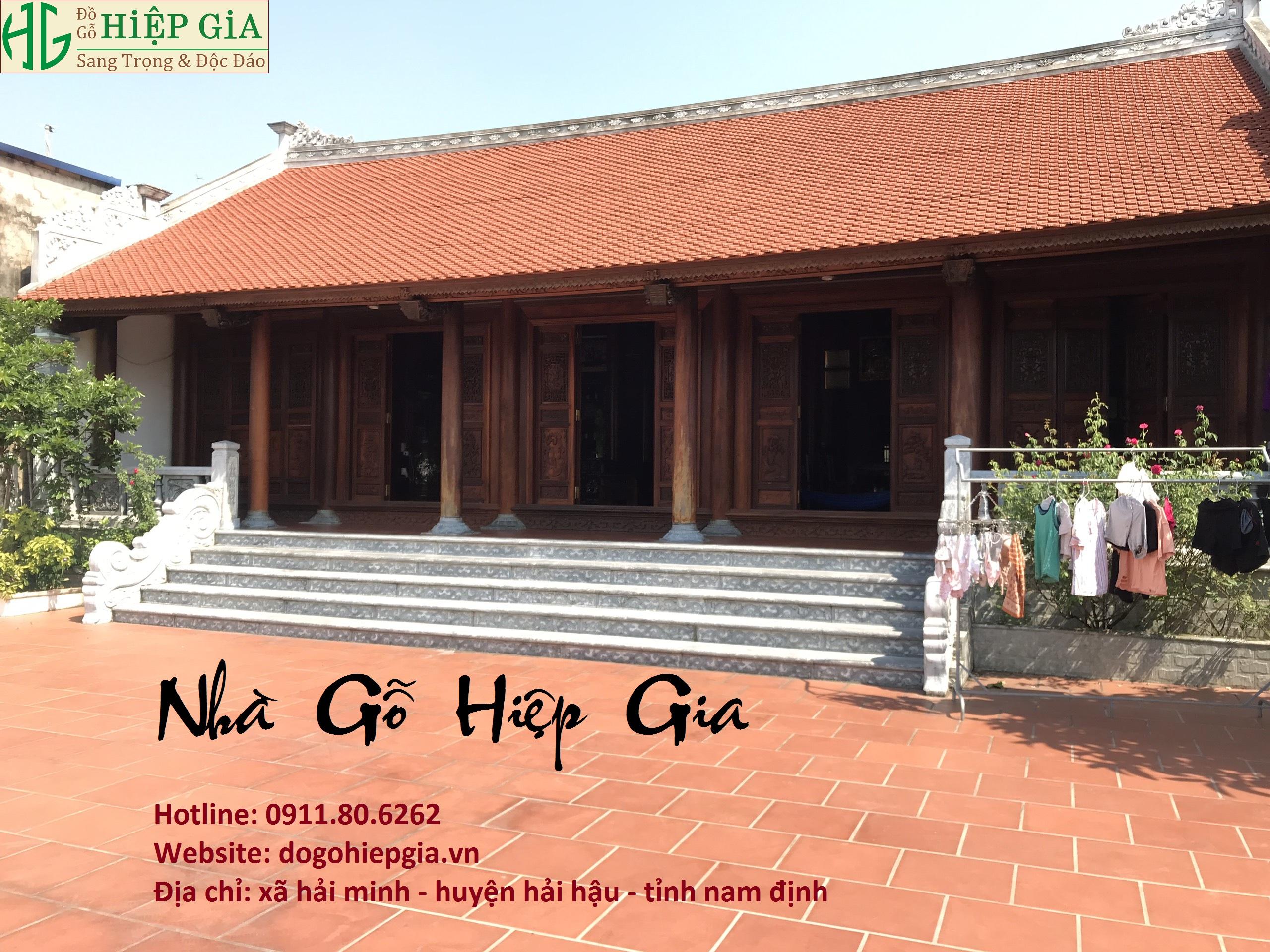 nha go lim 1 1 - Nhà Gỗ Lim - Nhận Thiết Kế & Thi Công