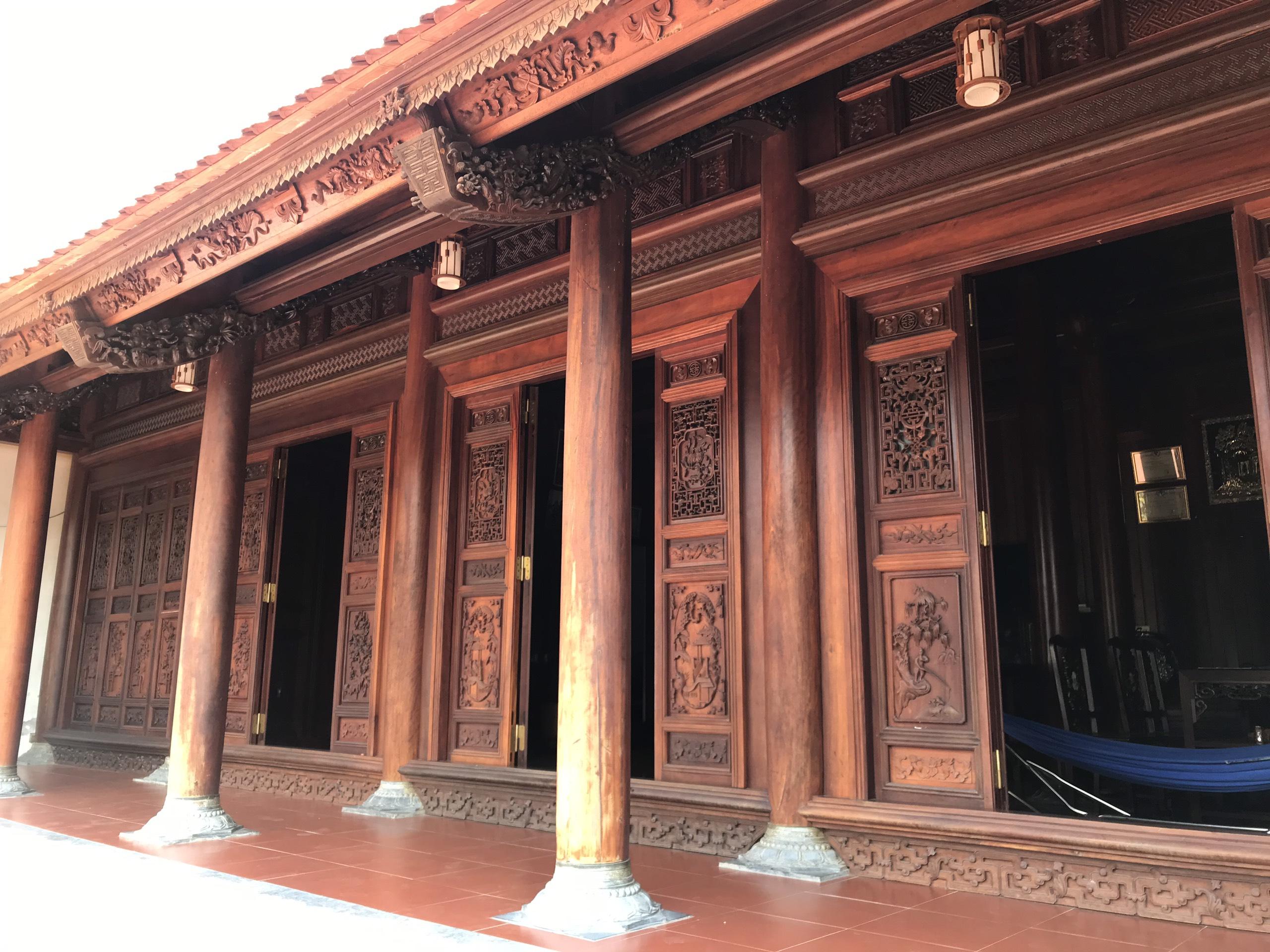 nha go lim 2 - Nhà Gỗ Lim - Nhận Thiết Kế & Thi Công