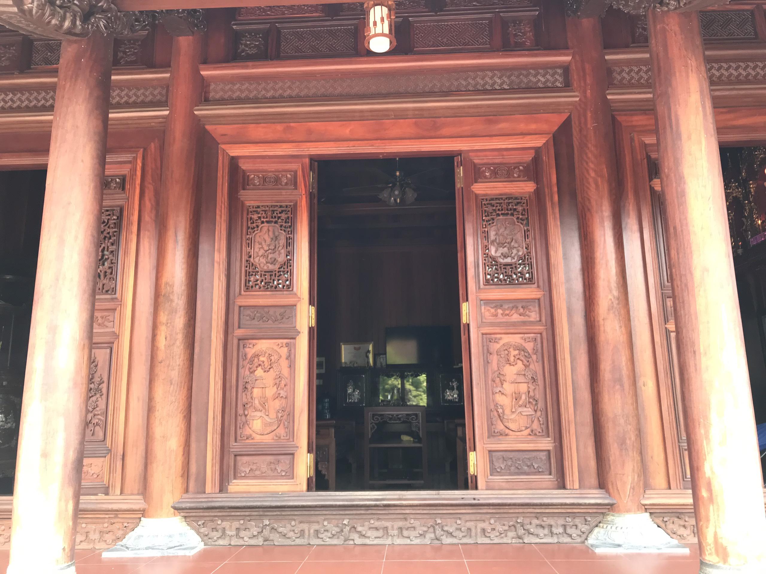 nha go lim dep - Nhà Gỗ Lim - Nhận Thiết Kế & Thi Công