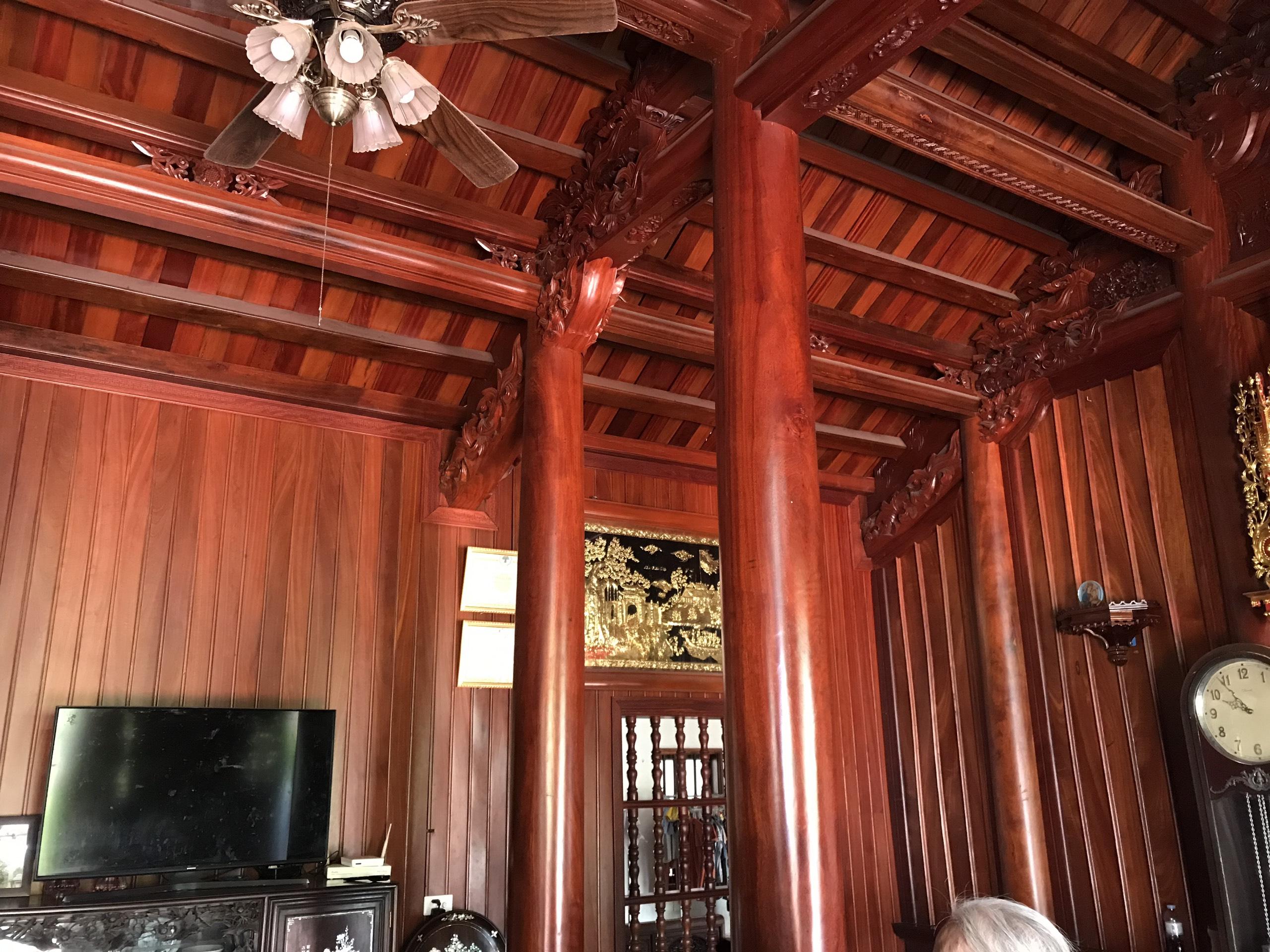 nha go xua - Nhà Gỗ Lim - Nhận Thiết Kế & Thi Công