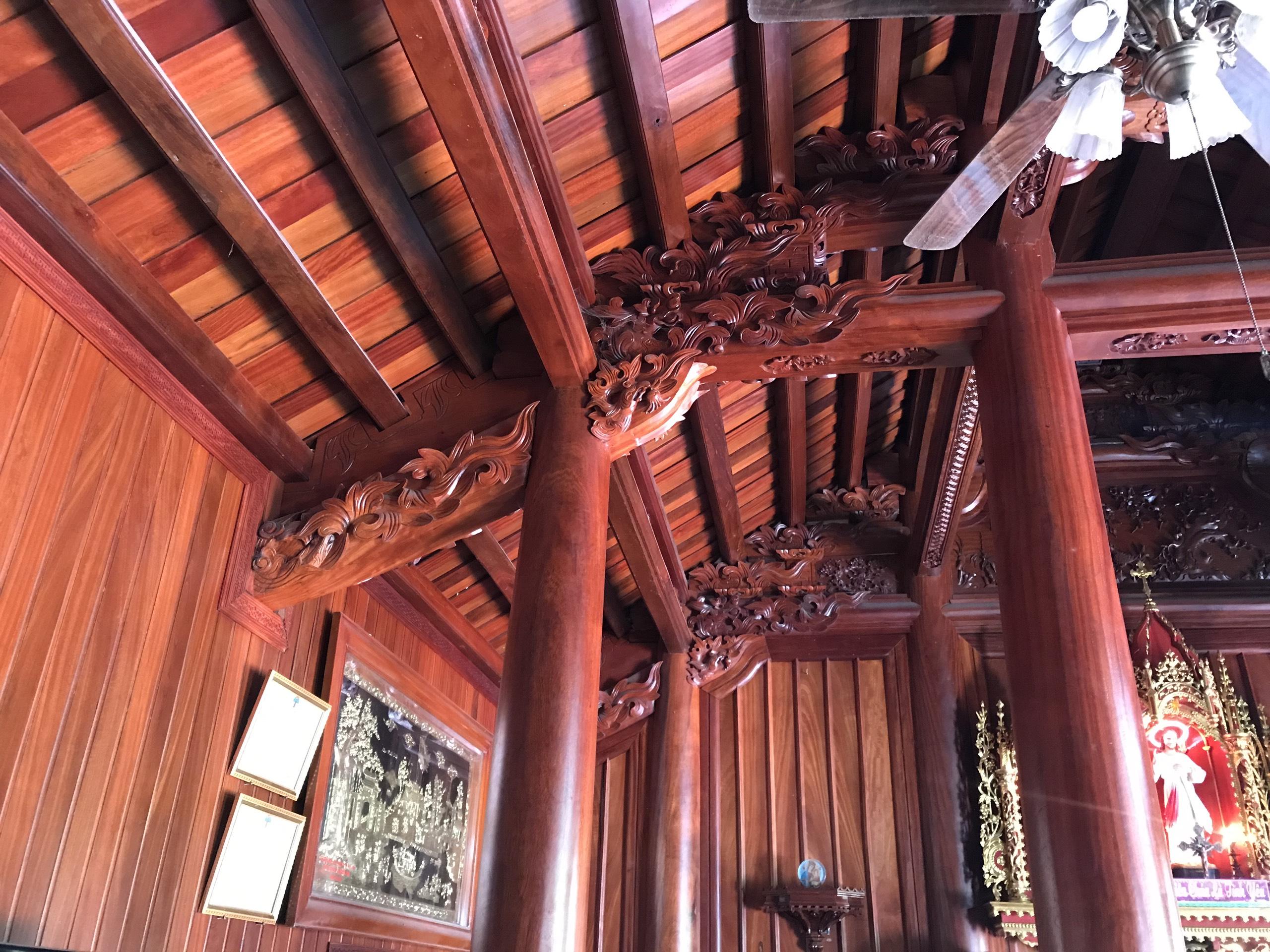 nha san go - Nhà Gỗ Lim - Nhận Thiết Kế & Thi Công