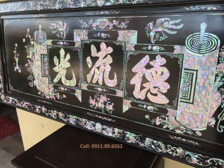 Tranh Khảm Đức Lưu Quang MS: 09