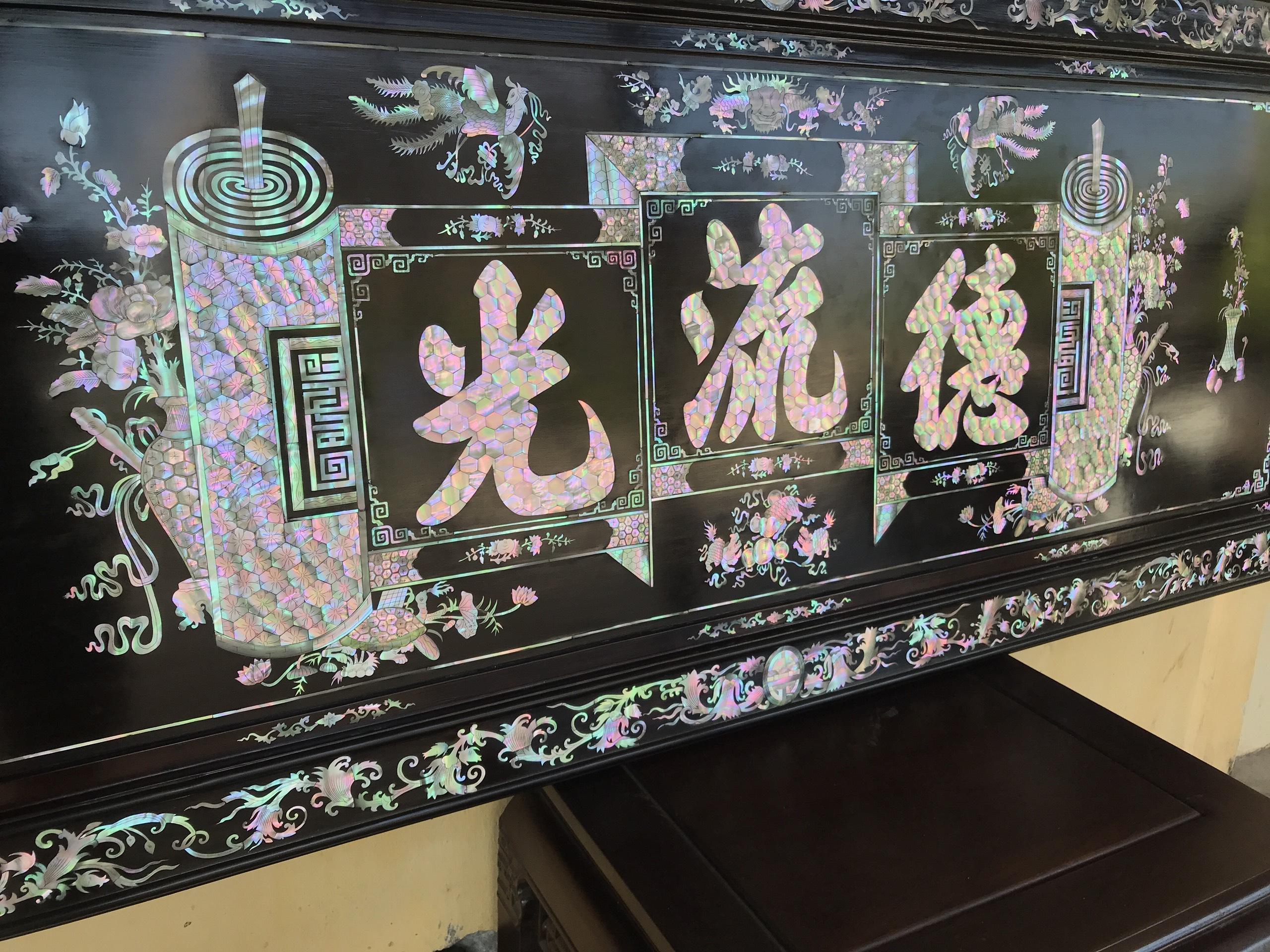 Tranh Khảm Đức Lưu Quang 5 - Tranh Khảm Đức Lưu Quang MS: 09