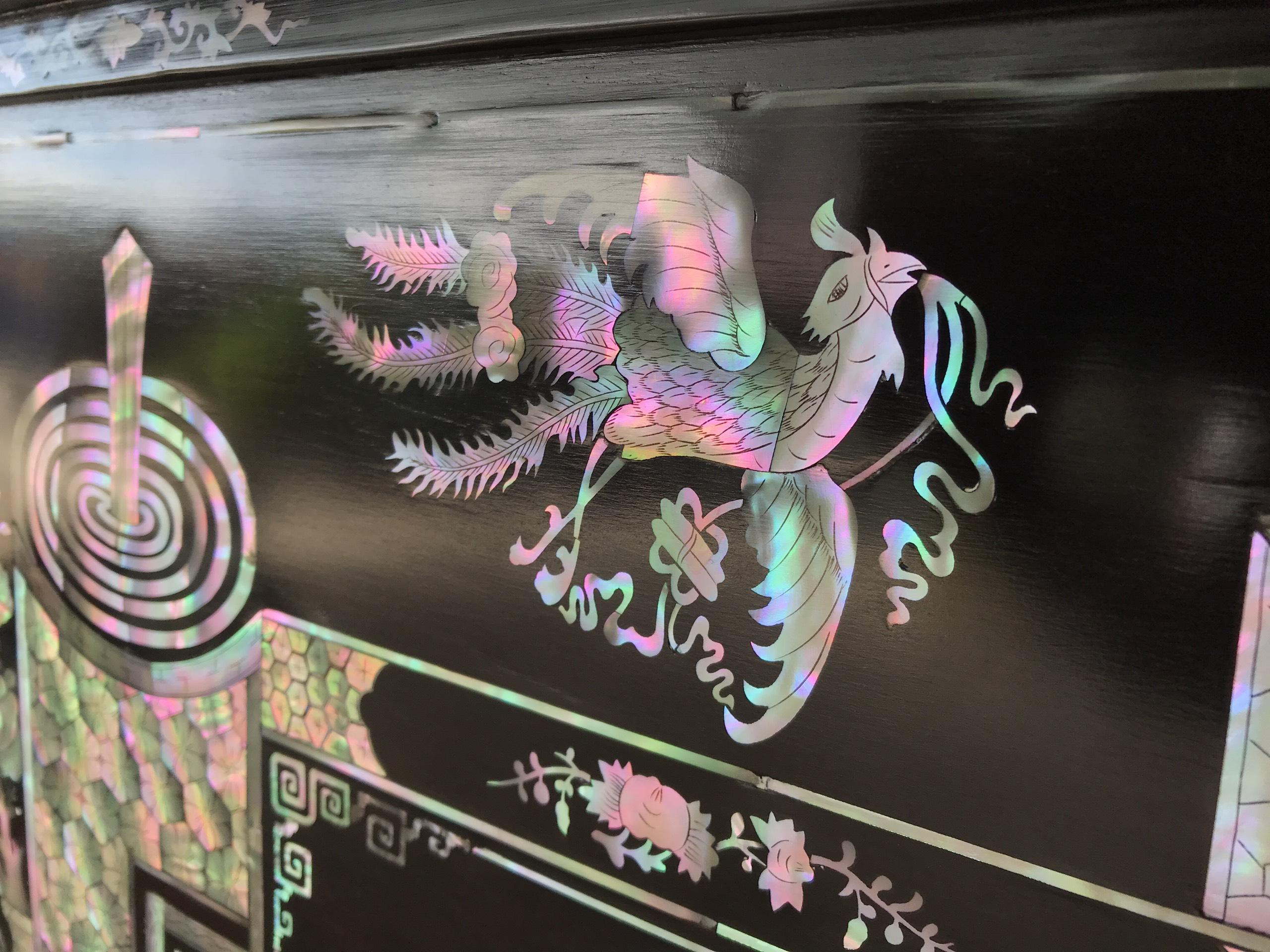 Tranh Khảm Đức Lưu Quang 7 - Tranh Khảm Đức Lưu Quang MS: 09