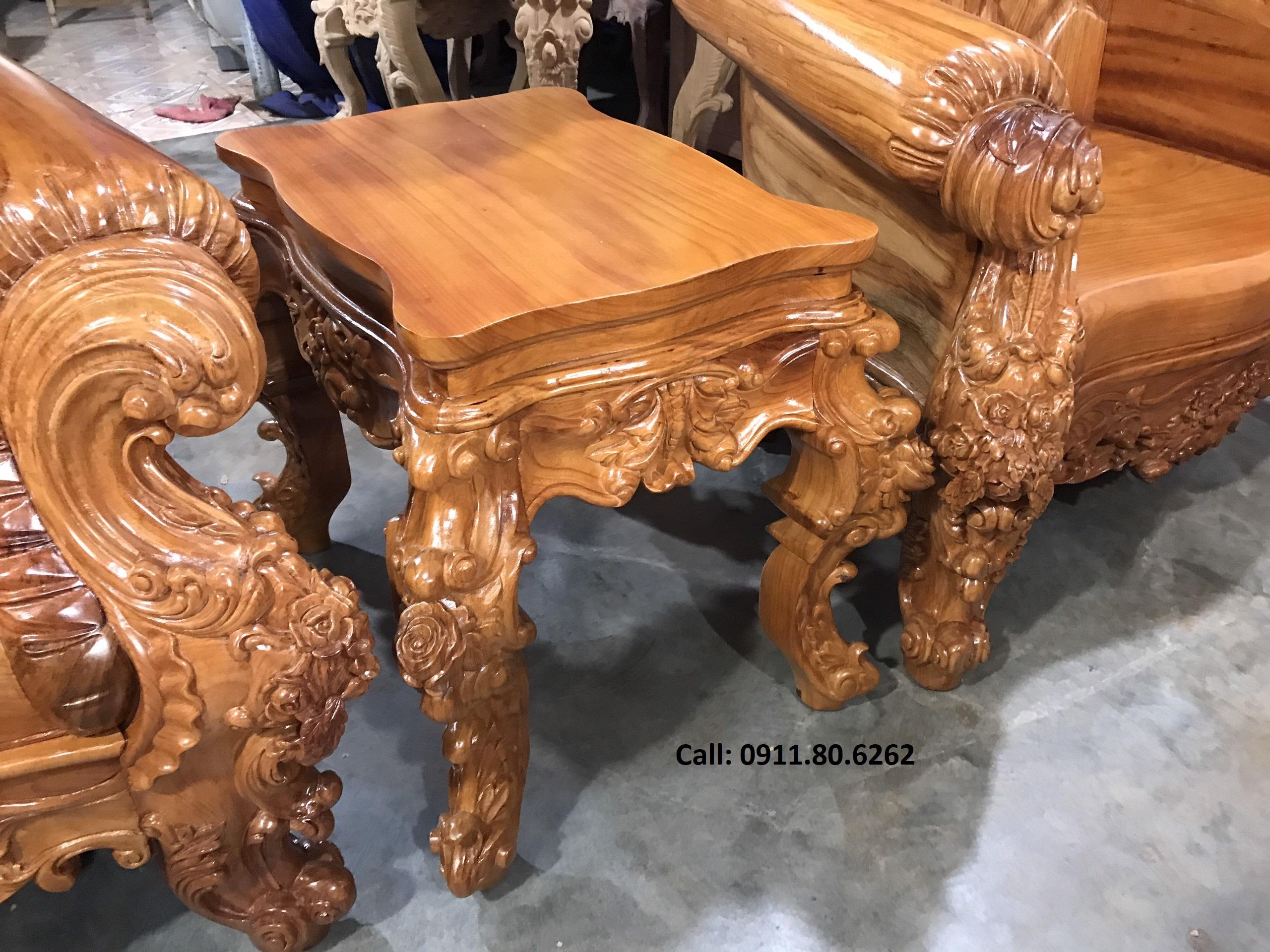 Sofa louis hoang gia 11 - Sofa Louis Hoàng Gia MS: 64