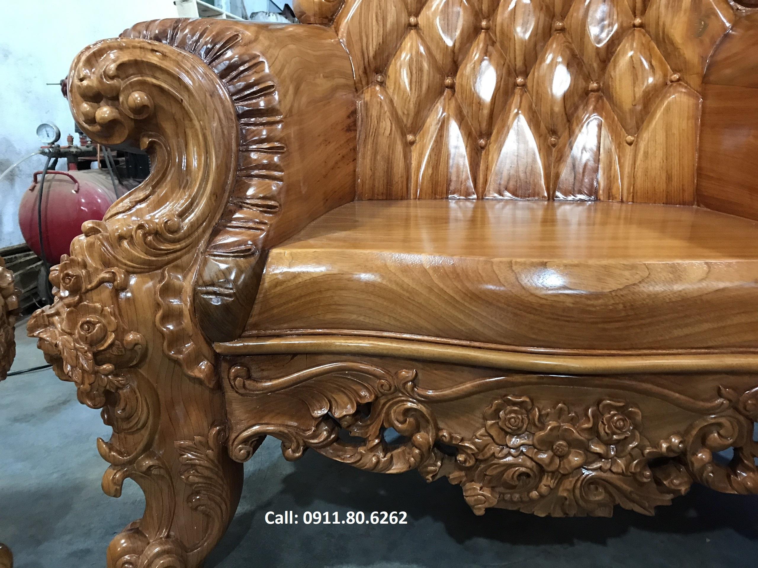 Sofa louis hoang gia 16 - Sofa Louis Hoàng Gia MS: 64