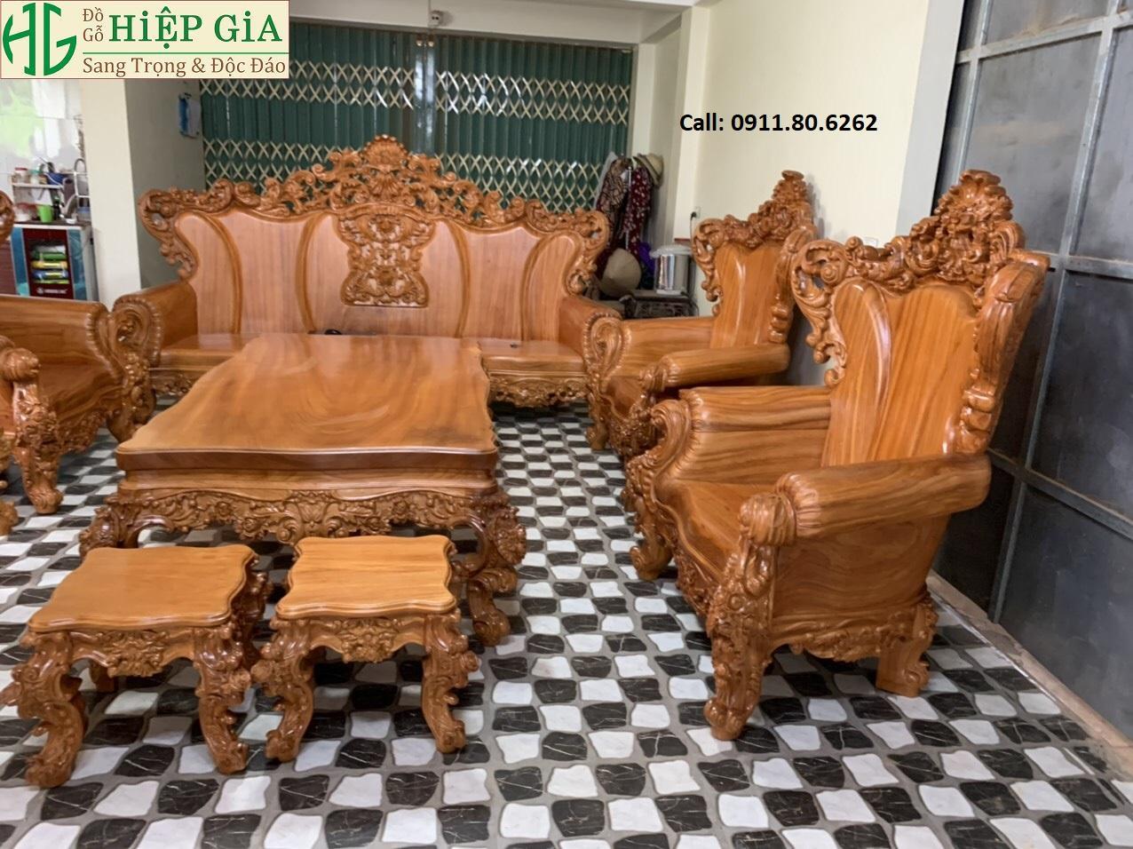 Sofa louis hoang gia 26 - Sofa Louis Hoàng Gia MS: 64