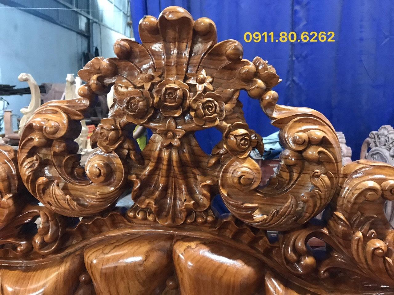 Sofa louis hoang gia 32 - Sofa Louis Hoàng Gia MS: 64