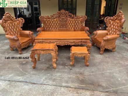 Sofa Louis Hoàng Gia MS: 64