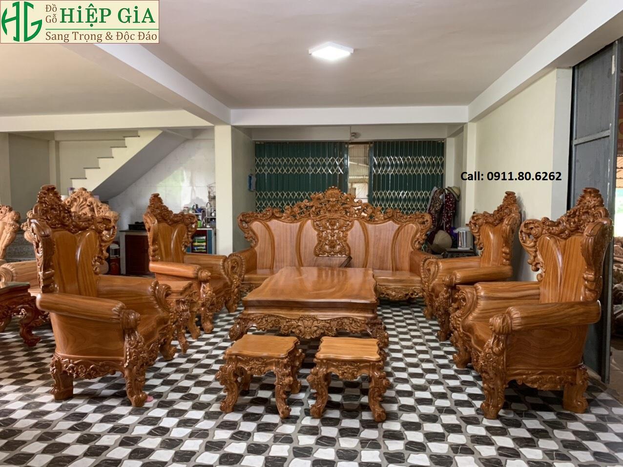 Sofa louis hoang gia 38 - Sofa Louis Hoàng Gia MS: 64