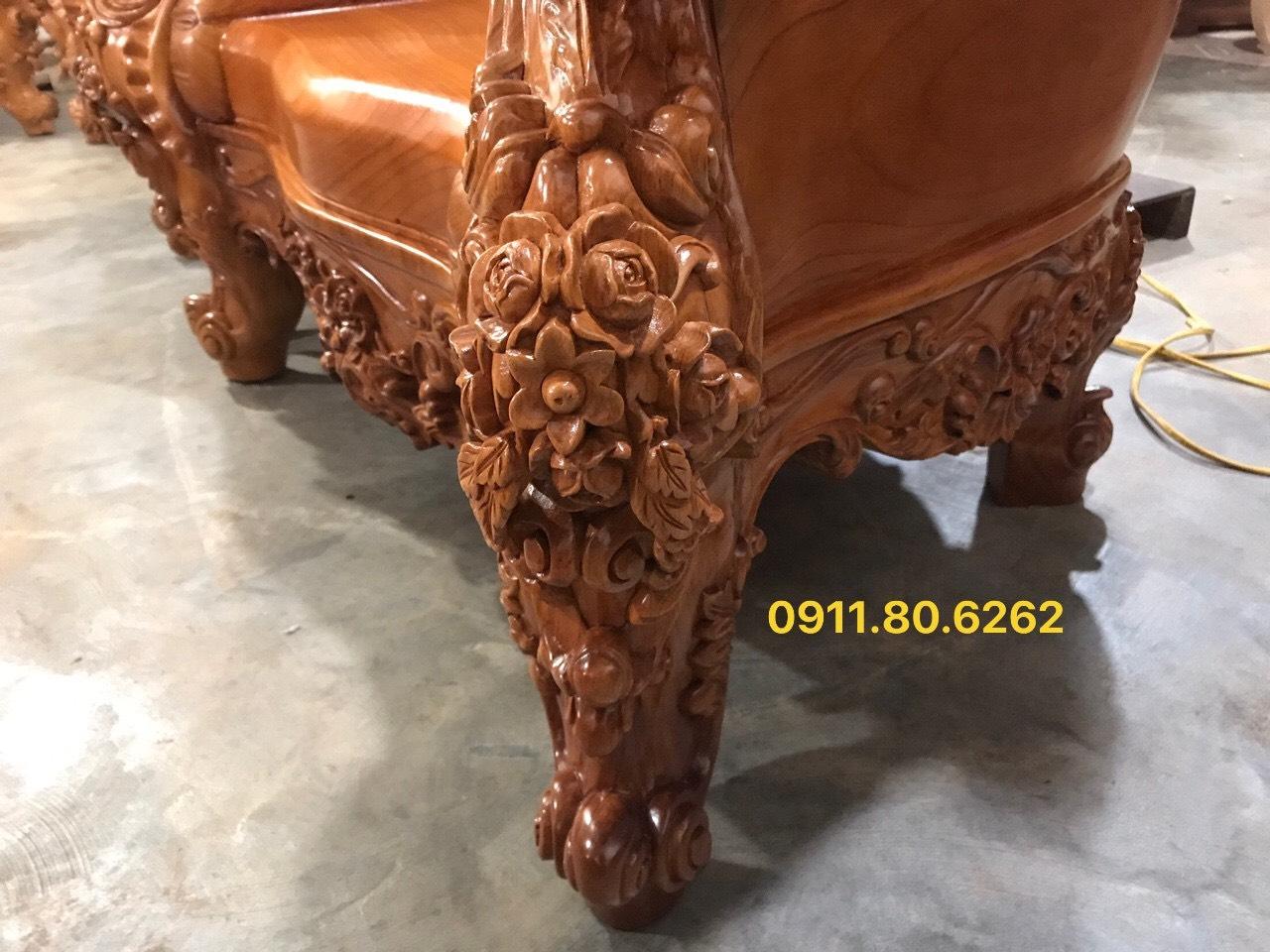 Sofa louis hoang gia 39 - Sofa Louis Hoàng Gia MS: 64