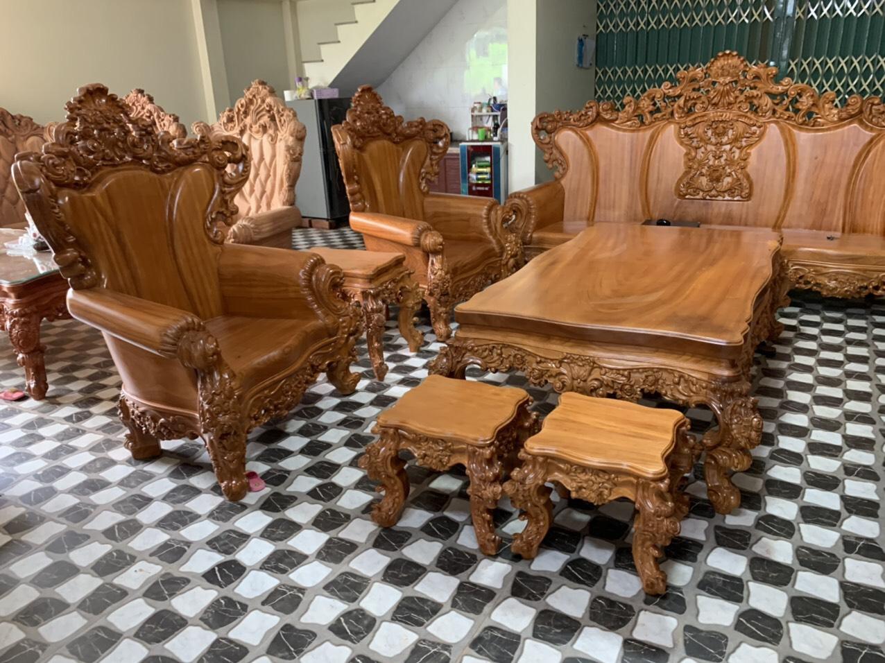 Sofa louis hoang gia 45 - Sofa Louis Hoàng Gia MS: 64