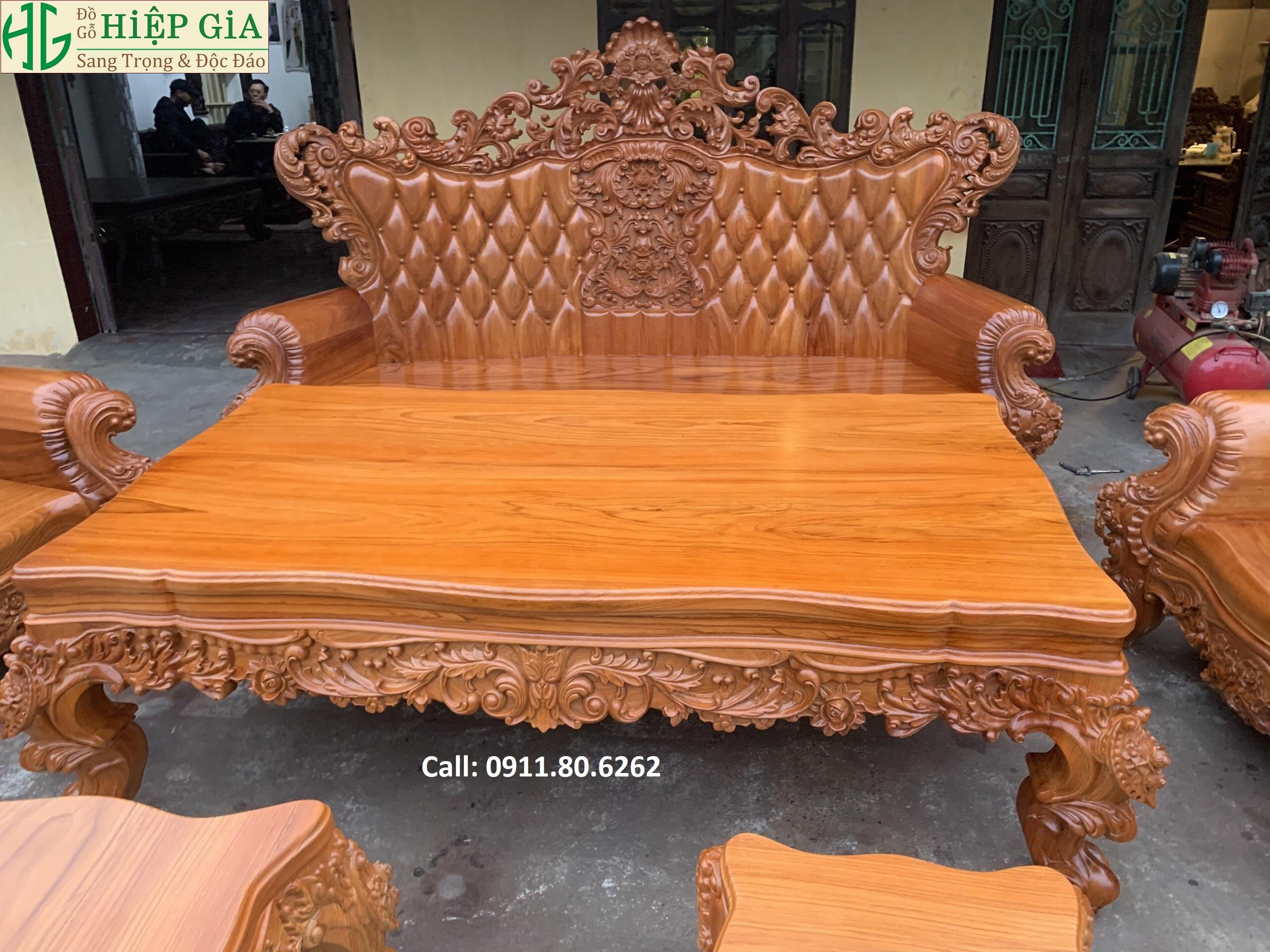 Sofa louis hoang gia 48 - Sofa Louis Hoàng Gia MS: 64
