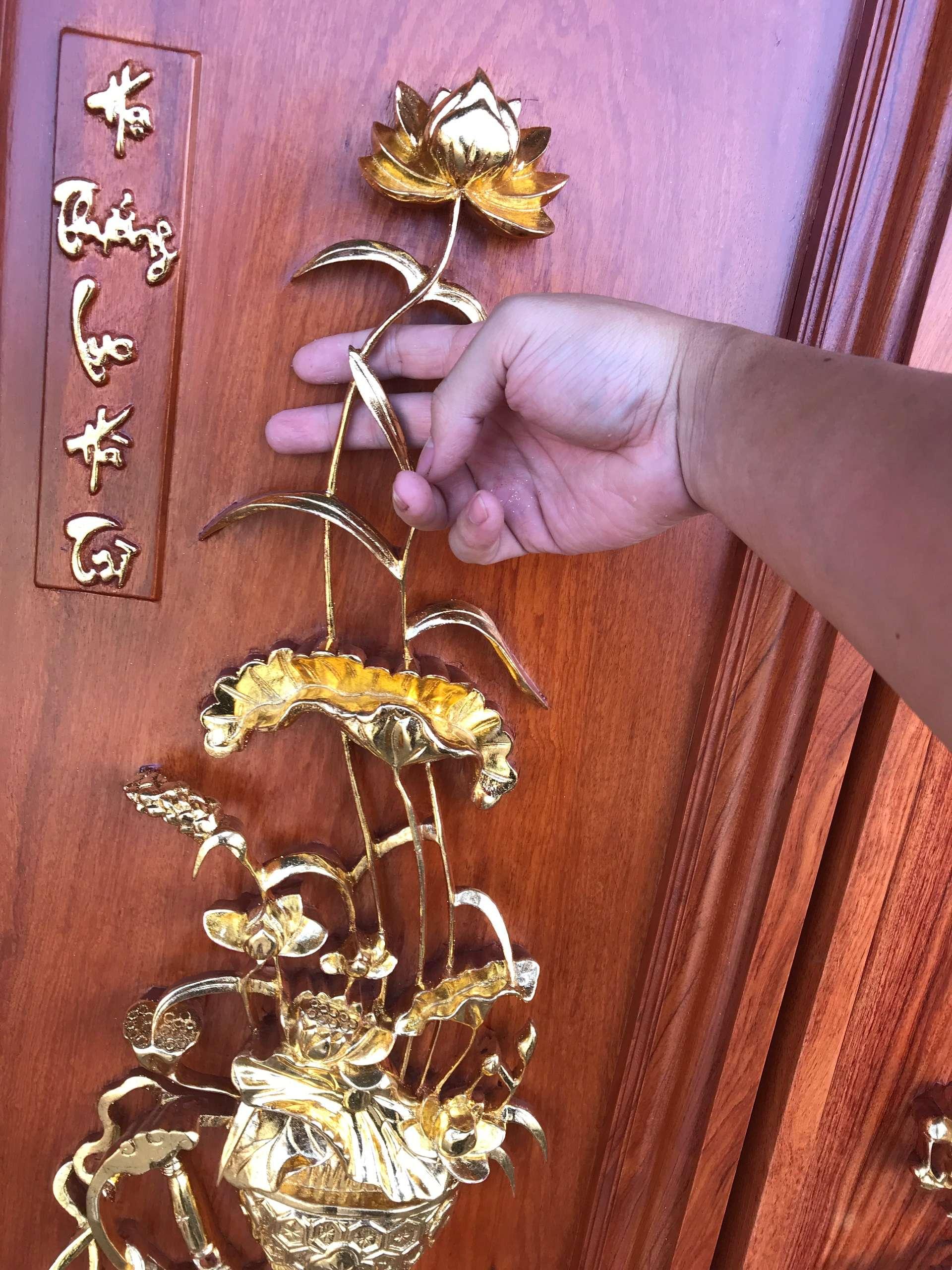 Tranh Tu Binh Son Son Thep Vang - Tranh Tứ Bình Sơn Son Thiếp Vàng MS: 15